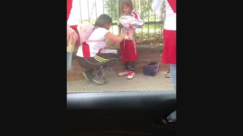 Как проносят пиро в Аргентине