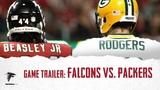 Game Trailer Falcons vs. Packers (Week 14, 2018)