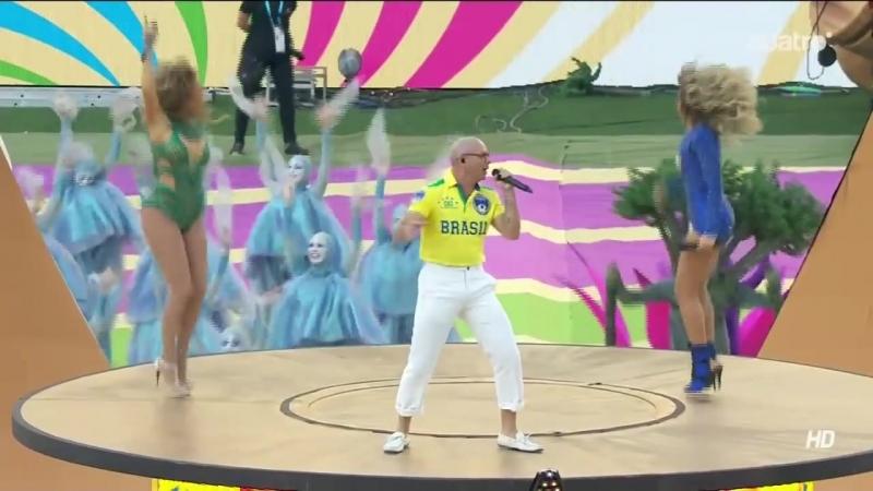Ceremonia Apertura Mundial Brasil 2014 – Pitbull feat. Jennifer Lopez Claudia Leitte – We Are One (Ole Ola)