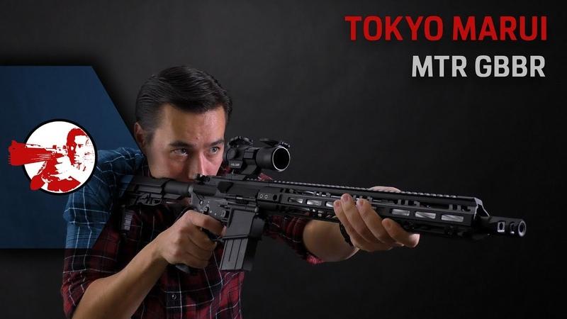 Tokyo Marui MTR16 GBBR