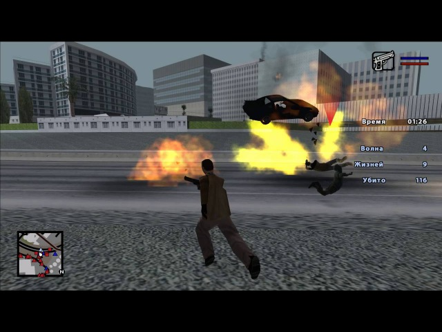 Zombie Andreas 4.0 Updated Crazy Gamemode Preview