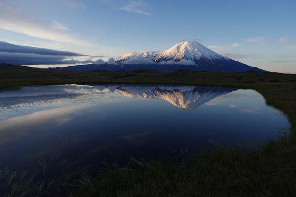 Вулкан Толбачик. Камчатка.