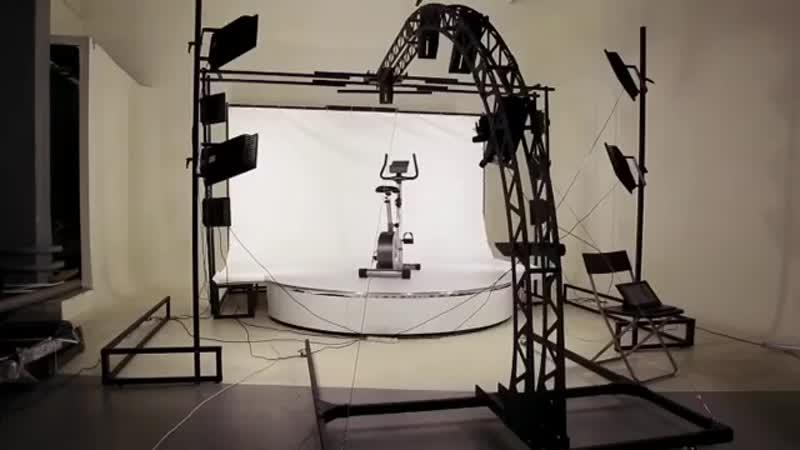 3D фотостудия для съемки крупногабаритных товаров (1 минута)