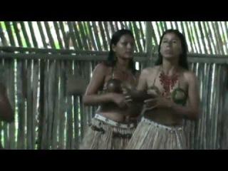 BAILE INDIGENA COMUNIDAD MUYUNA EN PUERTO MISAHUALLI ORIENTE ECUATORIANO