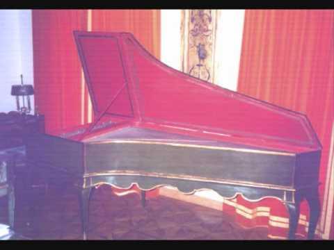 Bach Fantasia duobus subiectis BWV 917 Harpsichord.wmv