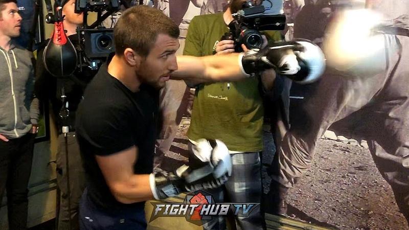 VASYL LOMACHENKOS FULL BOXING WORKOUT- TRAINING FOR ANTHONY CROLLA FIGHT