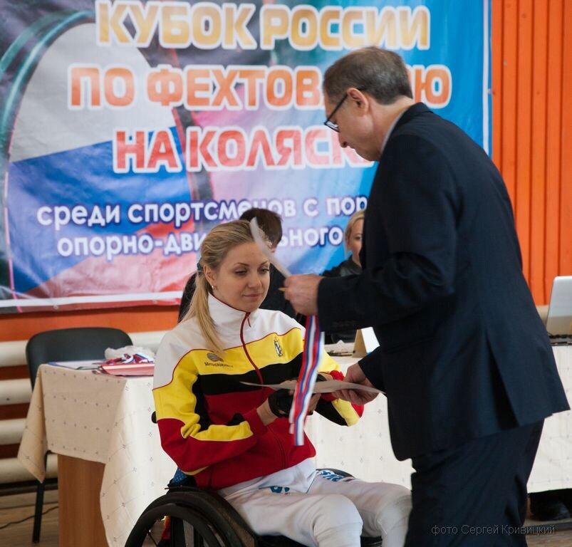 Курянка завоевала бронзу Кубка России по фехтованию на колясках