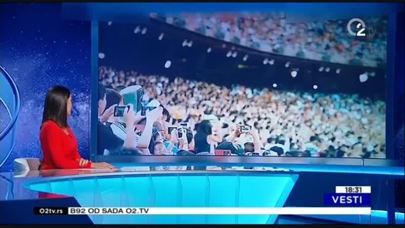 Переход вещания (B92/O2.TV [Сербия], 11.09.2017)