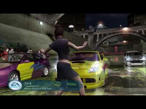 NFS: Underground прохождение 10: Acura RSX и появление Курта