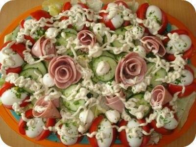 Простые салаты, рецепты простых салатов с фото