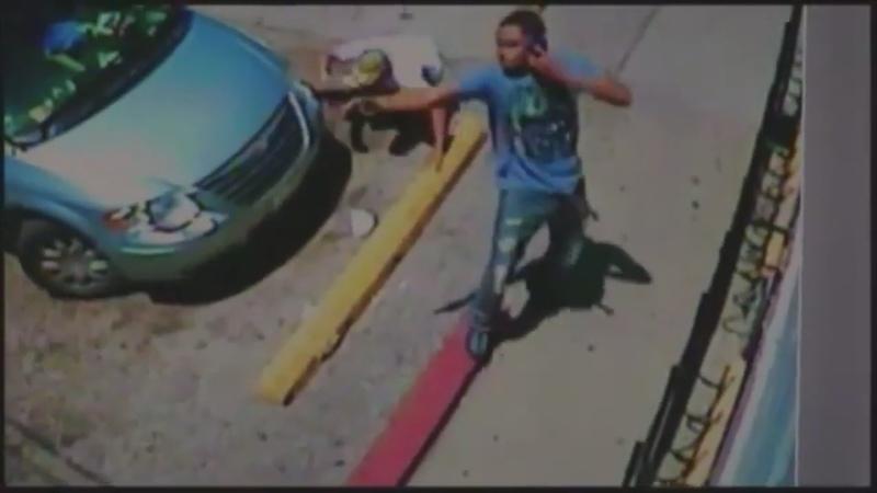Настоящий гангстер вступил в перестрелку но продолжил разговор по телефону