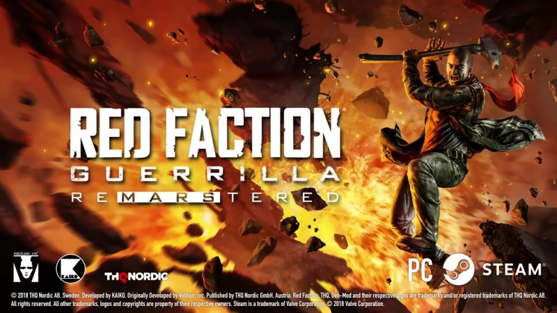 Red Faction Re-Mars-tered Edition Trailer