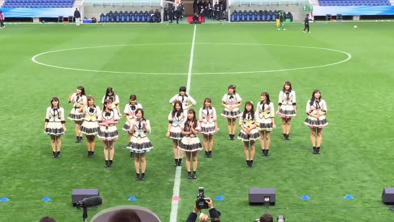 NMB48 at 皇后杯 JFA 第40回全日本女子サッカー選手権大会 ハーフタイムショー