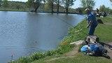 07.05.2018 ловля карпа в рыбхозе Гжелка / Летне-маточный водоём