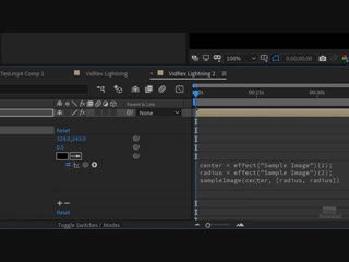 Creating a Lightning Detector in Adobe After Effects