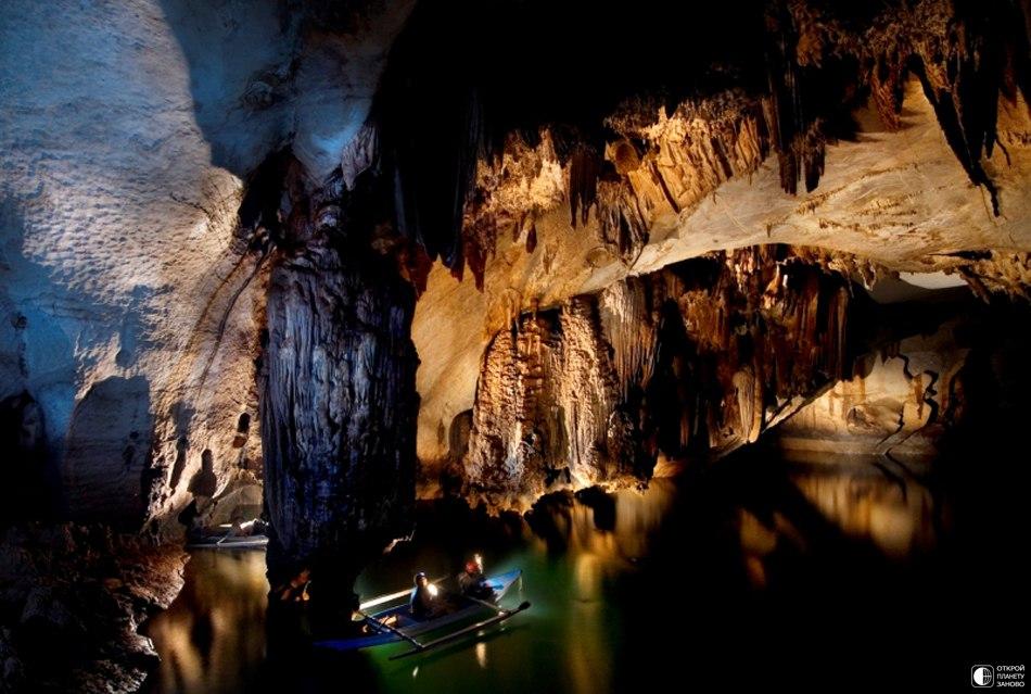 Фото дня. Подземная река Пуэрто-Принсеса,Филлипины