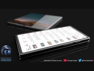 Samsung Galaxy F - смартфон с гибким экраном