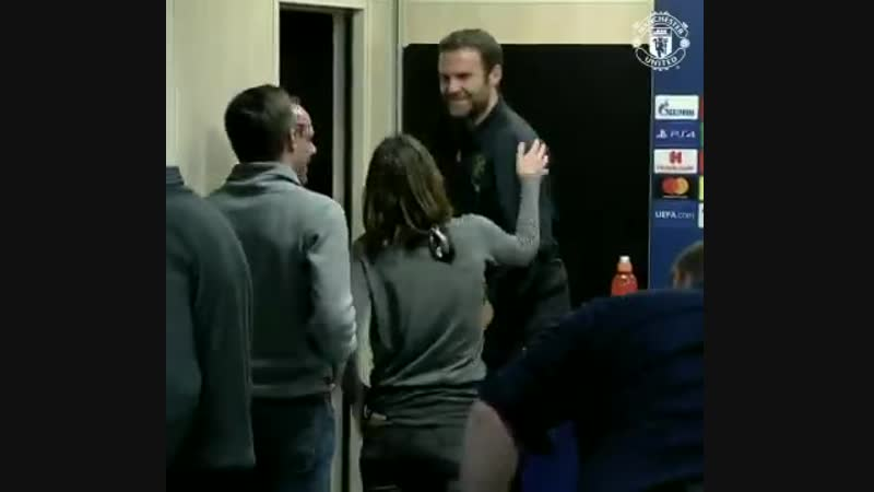 @JuanMata8 The Nicest Man in Football️ - - MUFC UCL