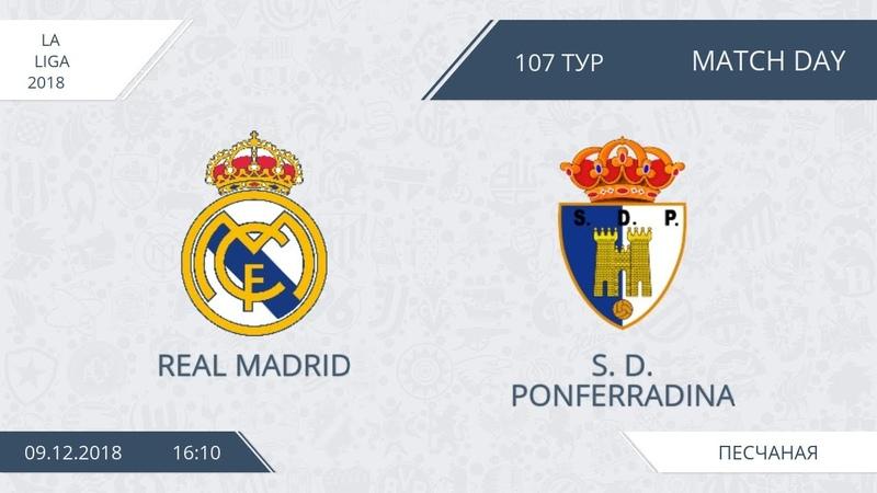AFL18 Spain Copa Del Rey 1 4 Real Madrid S D Ponferradina