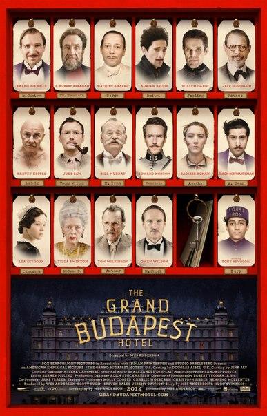 Отель «Гранд Будапешт» , 2014