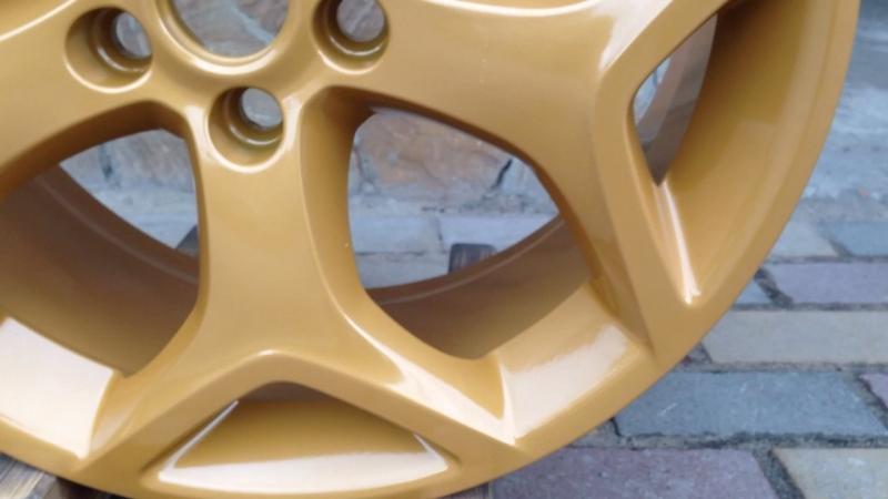 Порошковая покраска дисков в GFA