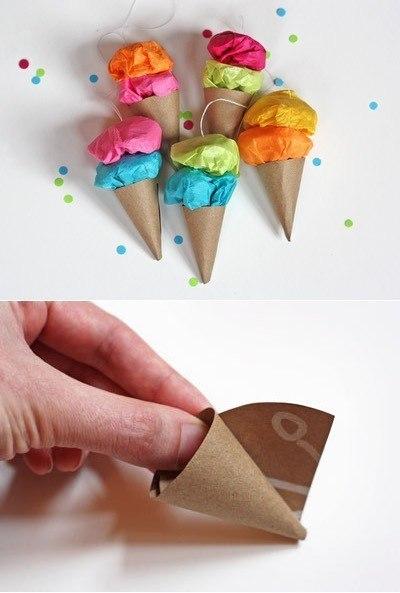 Поделки из бумаги конфета 69
