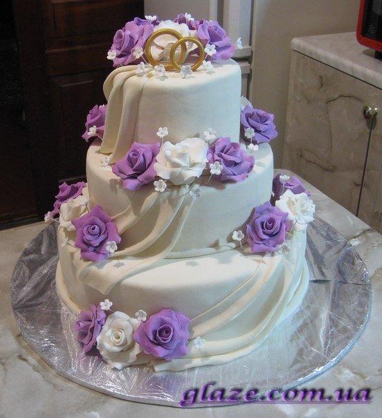 Свадебные торти фото
