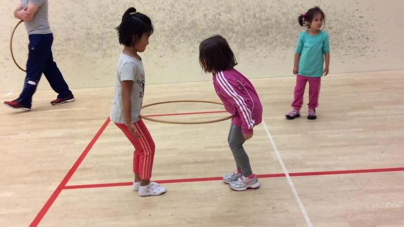 PE Curriculum for Kindergarten Age Children with Sport Games and Activities