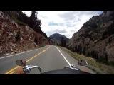motorcycle ride the million dollar highway 550 colorado