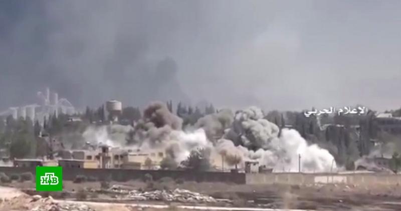 Коалиция США ударила кассетными бомбами по Сирии