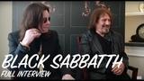 Black Sabbath Interview - Ozzy Osbourne &amp Geezer Butler