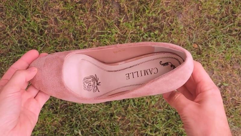 X21 6BIEGE Туфли на каблуке Pattern бежевые