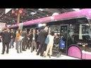 Le Van Hool Exquicity 24 Hybride Design METTIS dévoilé à Paris au salon UTP 2012 le 7 Juin 2012