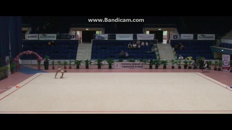 Полина Хонина - мяч (финал) Irina Deleanu Cup 2018, Бухарест