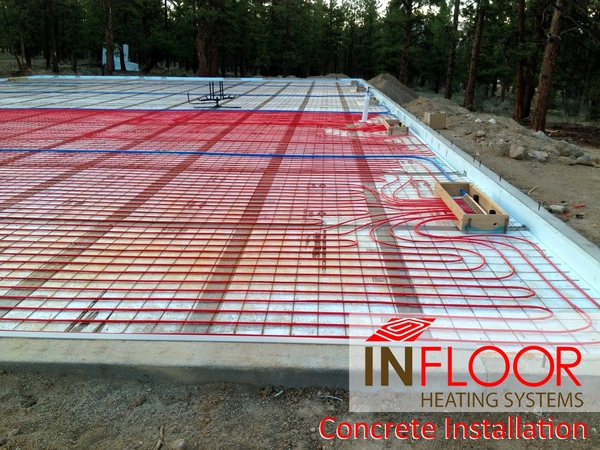 Hydronic Radiant Heating - Concrete Application