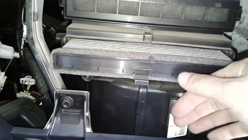 Замена фильтра салона МАЗДА СХ5. Как поменять салонный фильтр MAZDA CX5