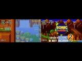 Sonic Mania - Green HIll Act 2 8-Bit Remix V2 + SEGA GENESIS REMIX