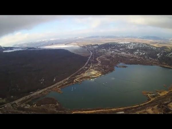 Bike show 300meters height. Area in Sevastopol.Hubsan-501s.pro.