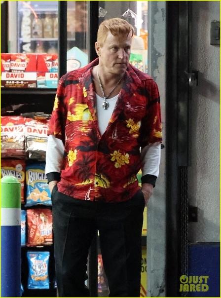 Вуди Харрельсон на съемочной площадке второго «Венома» Премьера назначена на октябрь.