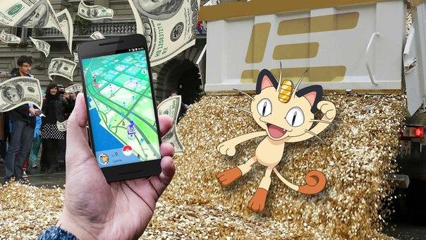 Pokemon GO стала самой скачиваемой игрой в App Store