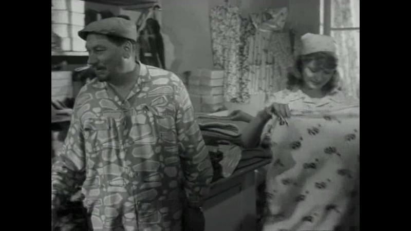 ПОЛУСТАНОК (1963) - мелодрама, комедия. Борис Барнет 720p