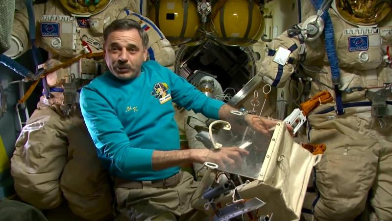 2015   Год на орбите   Человек за бортом - 05 17