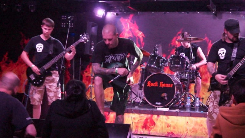 \\\ MORGER 09.09.2015. Autumn Death Concert,Rock House клуб