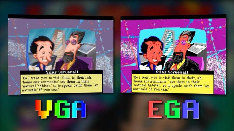 Larry 5 Сравнение VGA vs EGA Leisure Suit Larry 5 PC Intro VGA vs EGA comparation