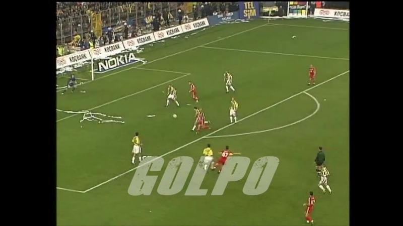 Fenerbahçe Galatasaray 2 1 2000 01