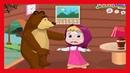 Маша и Медведь - Маша Готовится к Хэллоуину Веселые Развивающие Мультики Для Детей