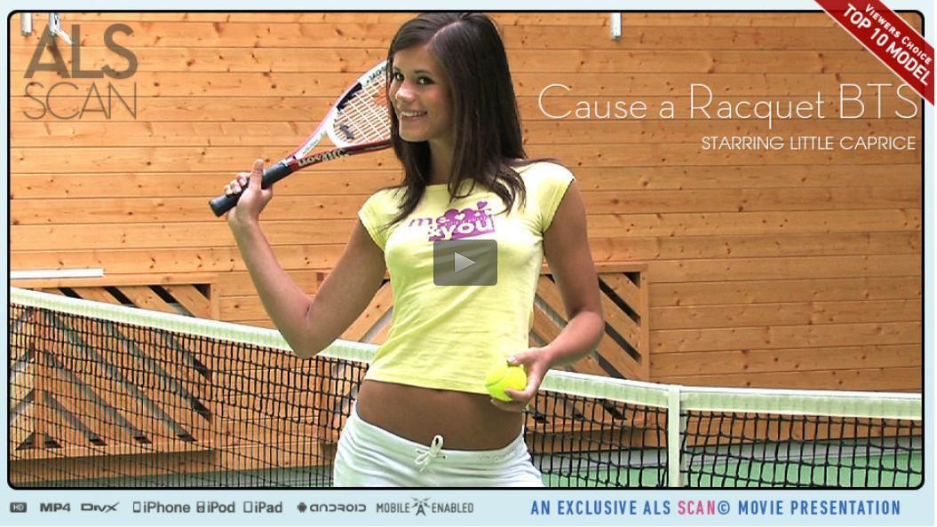 ALSScan - Cause a Racquet BTS