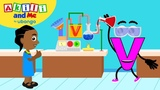 Meet Letter V! Learn the Alphabet with Akili Cartoons from Africa for Preschoolers
