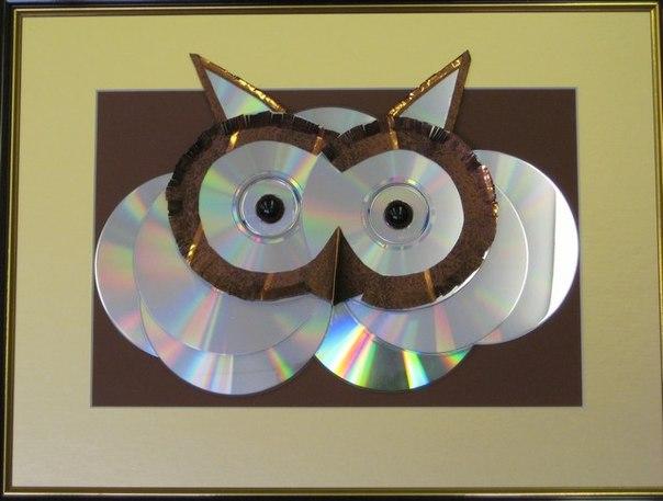 Поделки в школу из дисков