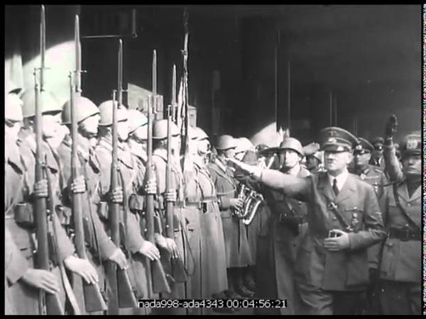 Rencontre Mussolini Hitler au Col du Brenner